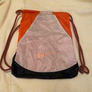 NIKE Varsity 2.0 Drawstring Gym Sack Orange